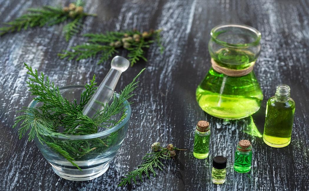 cypress essential oil for fertility