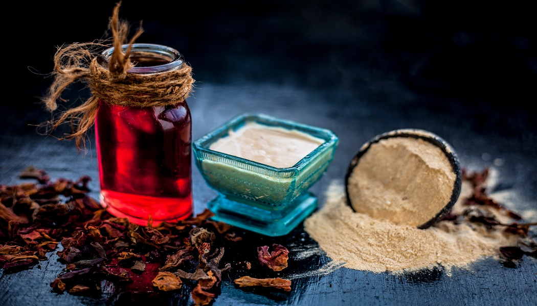 sandalwood and rose water for keloids