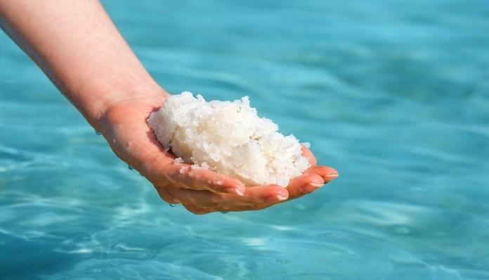 sea salt for cure toenail fungus