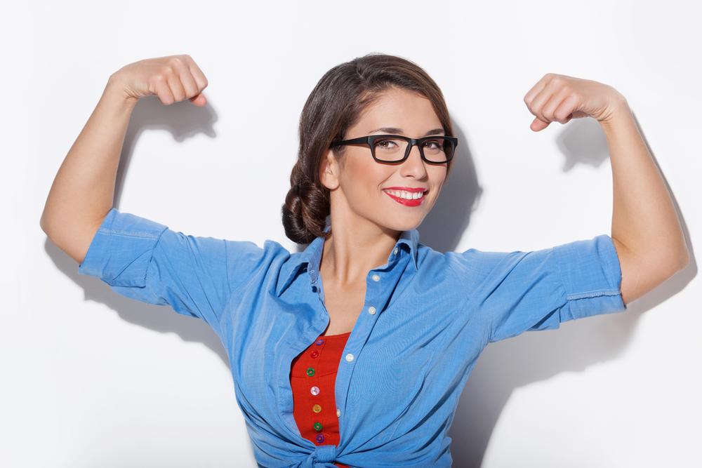 women with strong bones