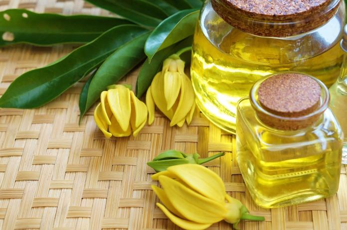Ylang Ylang essential oil-min
