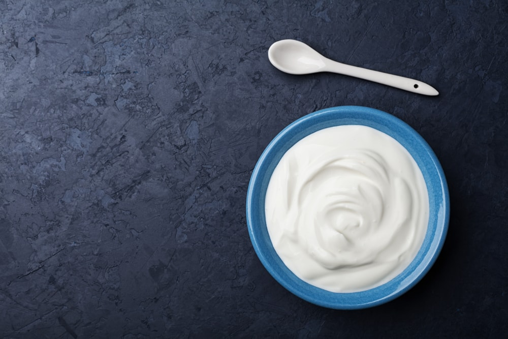 Yogurt for healthy hair