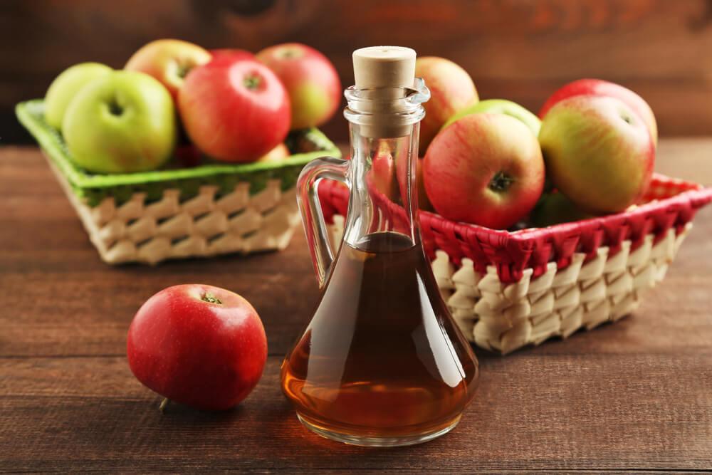 apple cider vinegar for foot soak