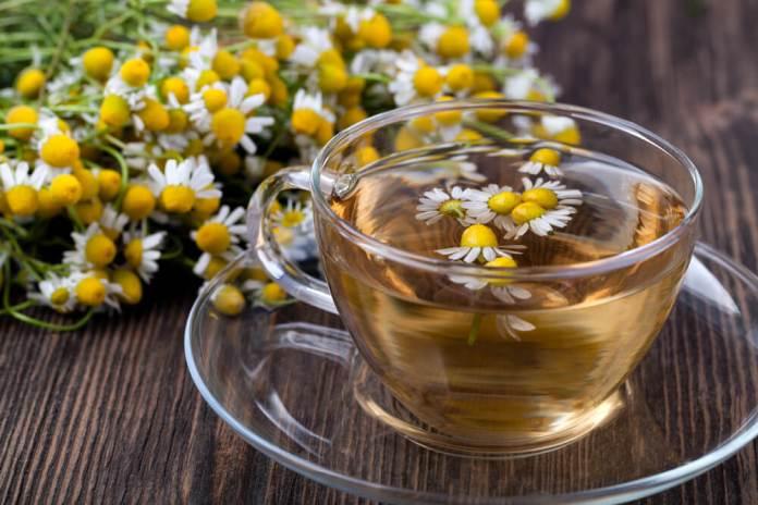 chamomile tea for strep throat