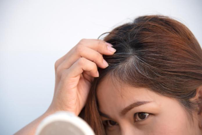 castor oil for premature grey hair