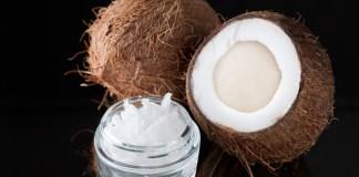Cold pressed coconut oi
