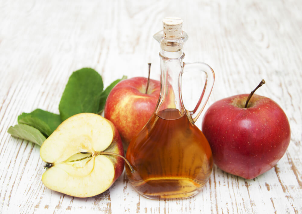 Apple Cider Vinegar for stress rash