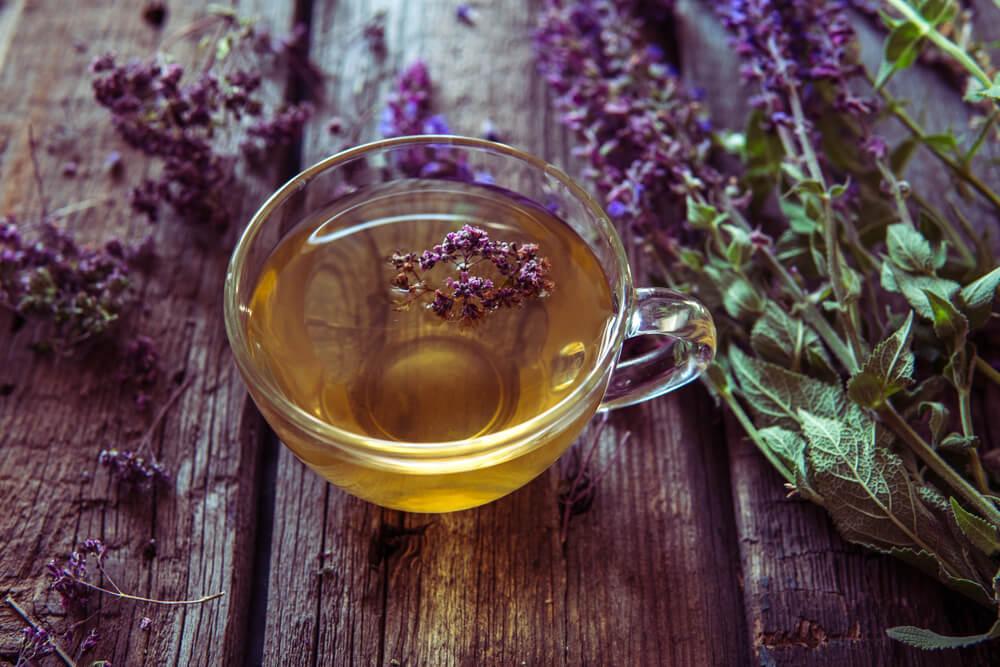 Lavender and greetea