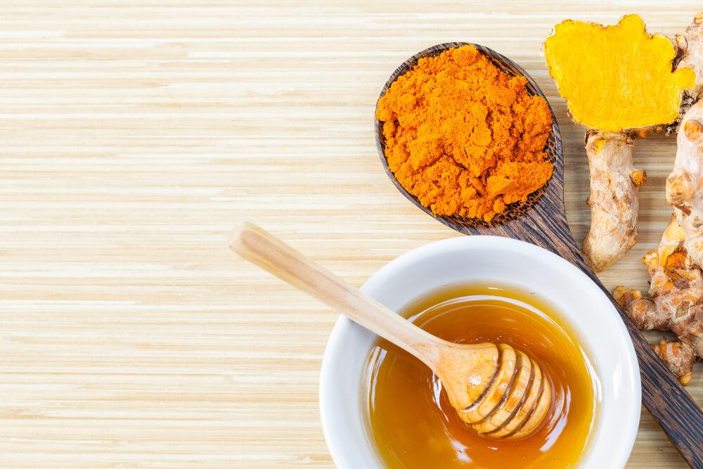 Turmeric and honey