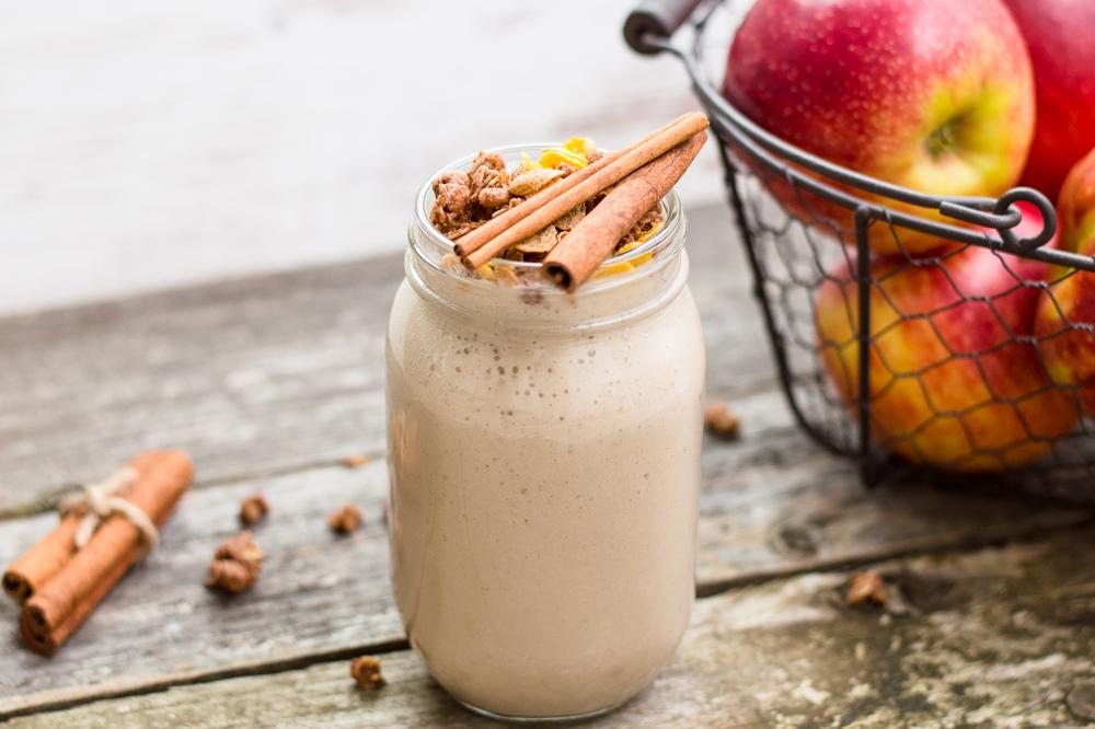 cinnamon milkshake