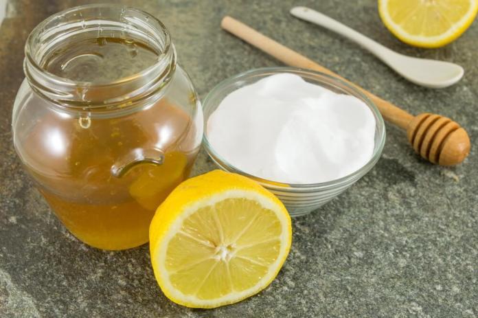 honey and bakingsods