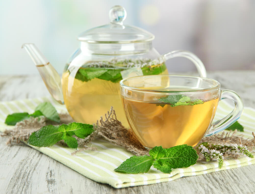 spearmint tea