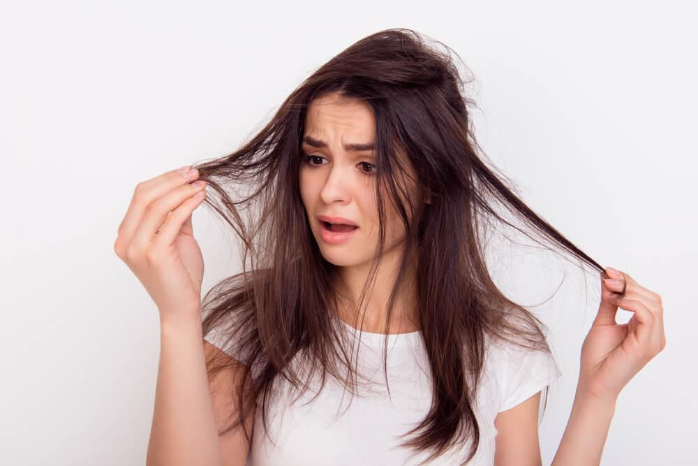 Argan oil for hair damage