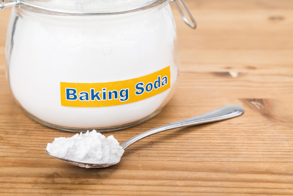 Baking soda boasts of gas