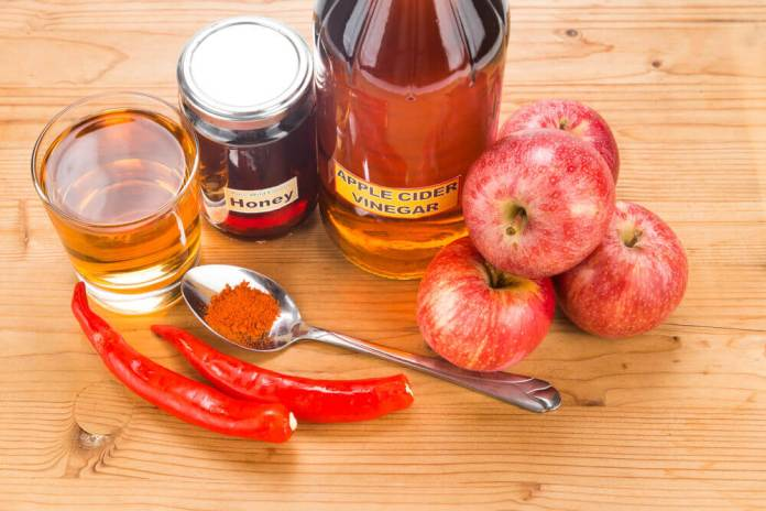 Cayenne pepper and apple cider vinegar for allergies