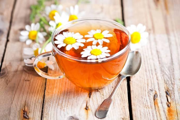 Chamomile Tea And ACV For Dandruff