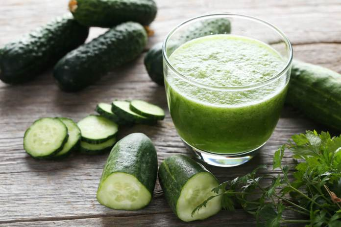 Cucumber juice for constiation