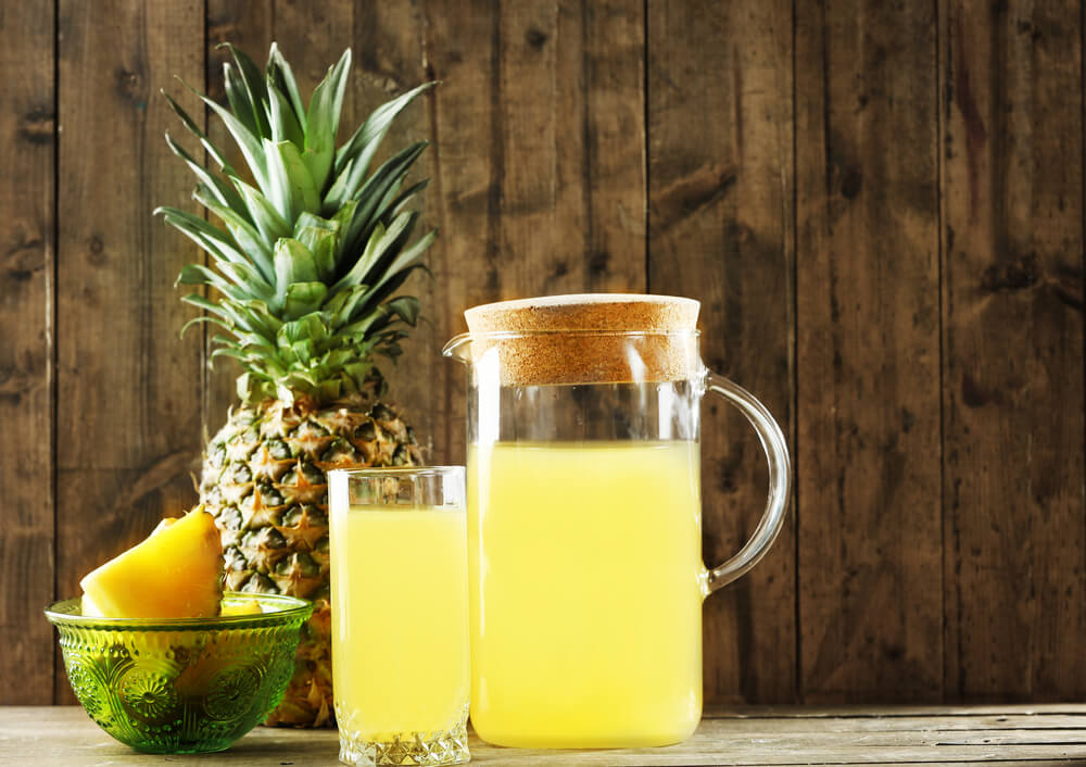 Pinapple for constipation