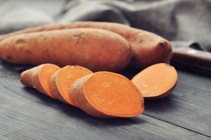 Sweet potato and biotin