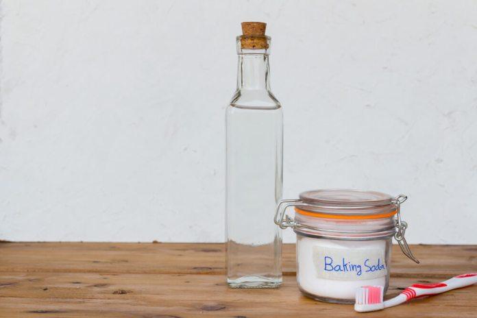 ACV and baking soda acne