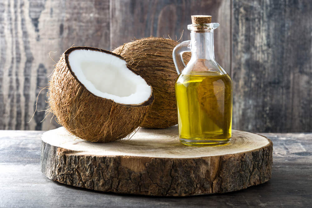 coconut oil for acne.