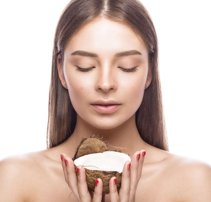 coconut oil for eyebros