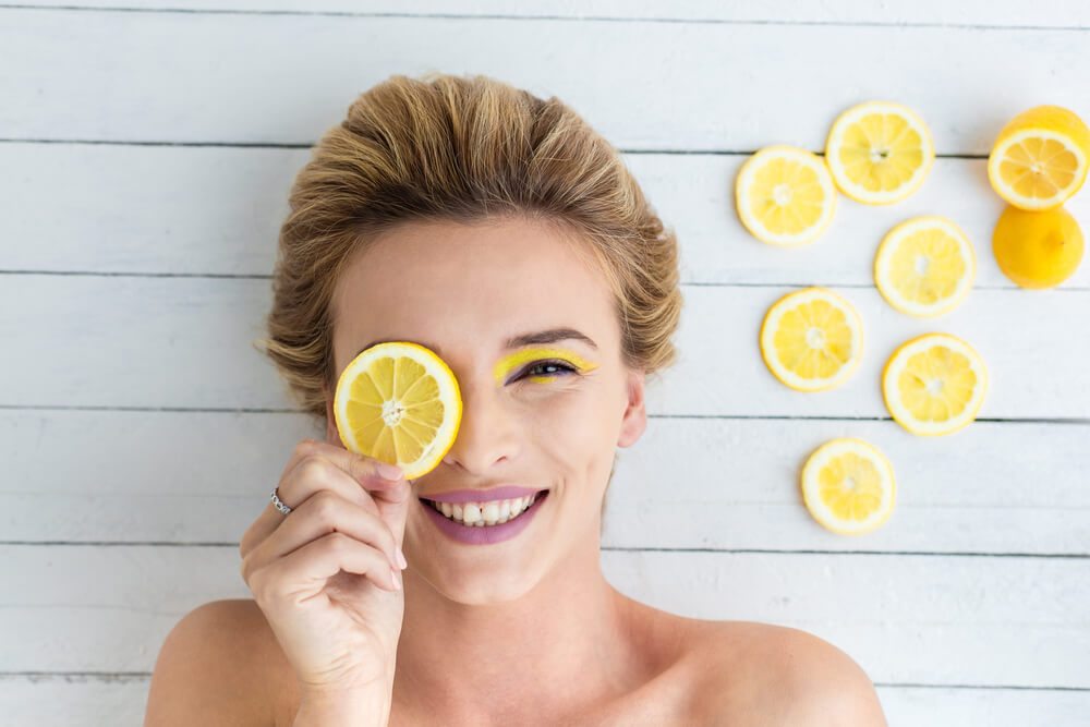 lemon cures acne