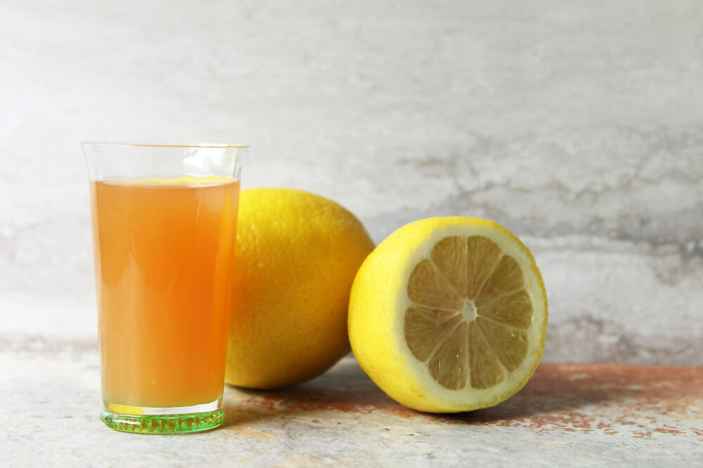lemon and acv