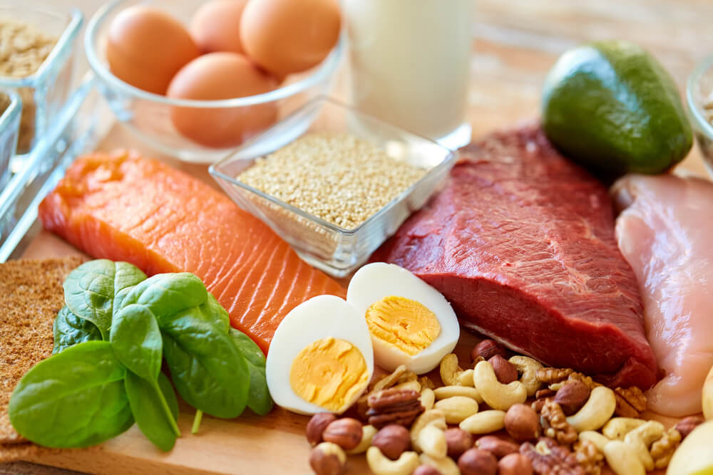 protein-rich diet foods