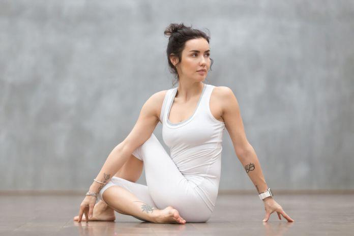 Ardha Matsyendra for Constipation