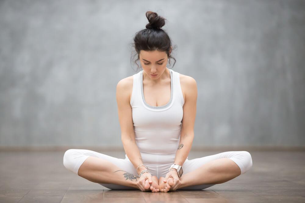 Baddha Konasana for Hip Pain