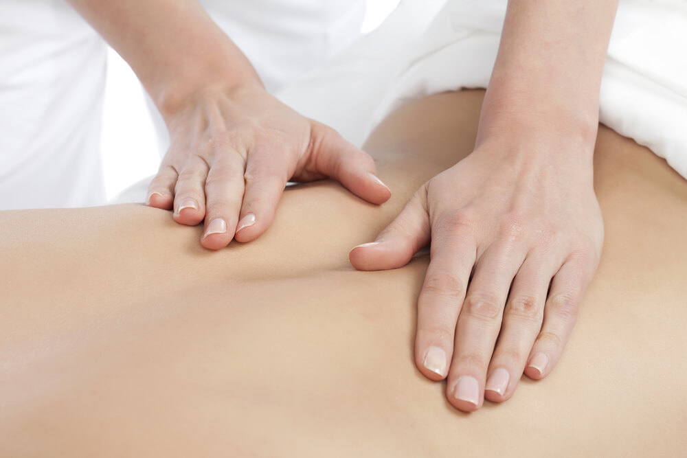 Palm and Thumb Massage for Sciatica Pain