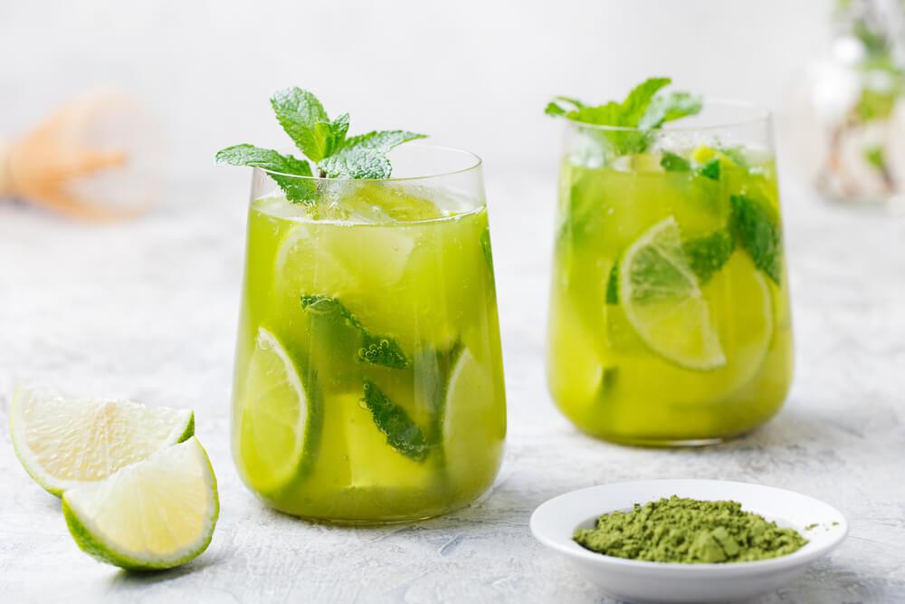 Detox Iced Green Tea benefits