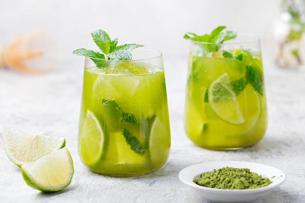 Detox Iced Green Tea benefits