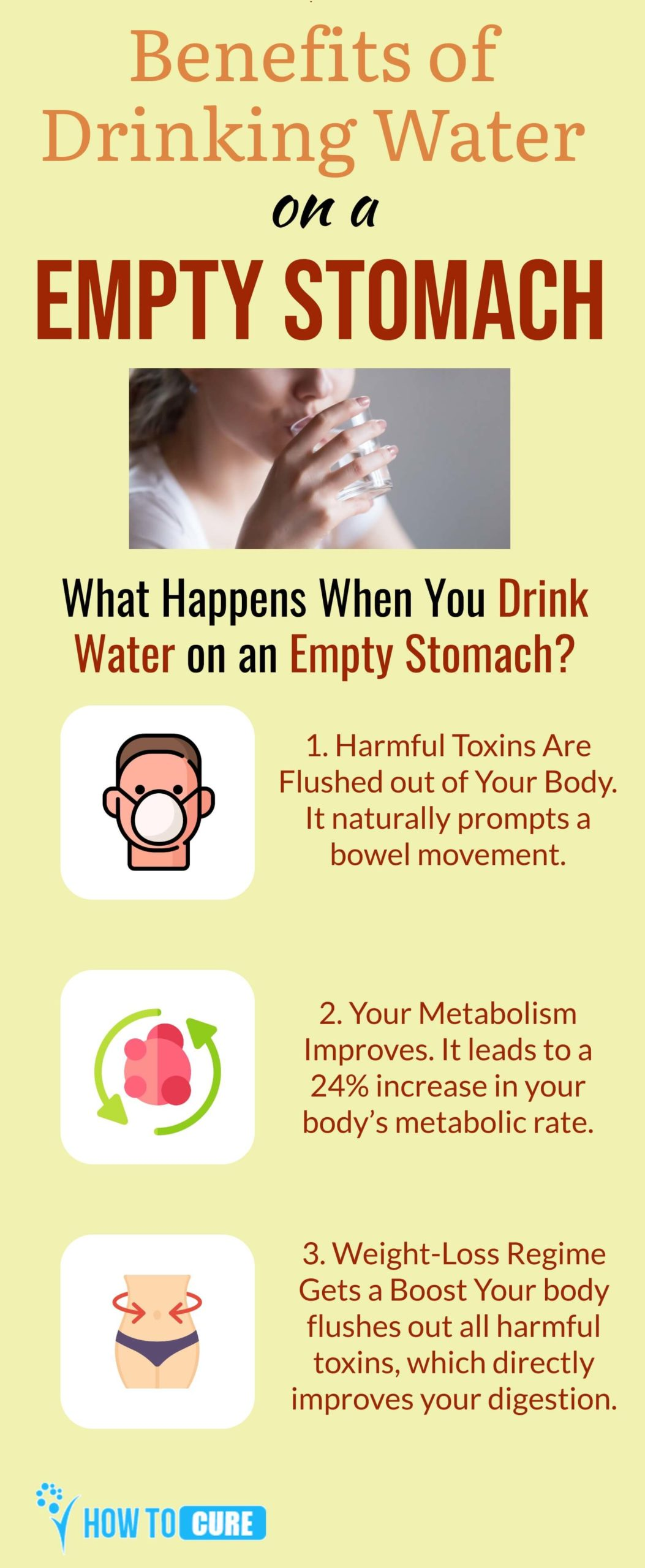 Drinking water empty stomach