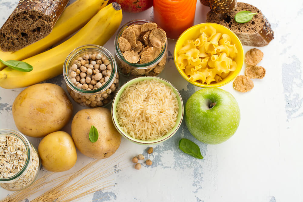carbohydrate rich foods for diet