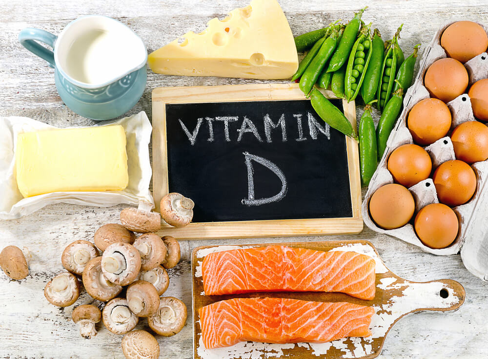 list of vitamin D rich items