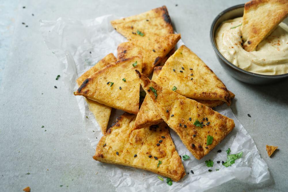 Greek Chickpeas on Toast