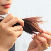 coconut oil for dry hair