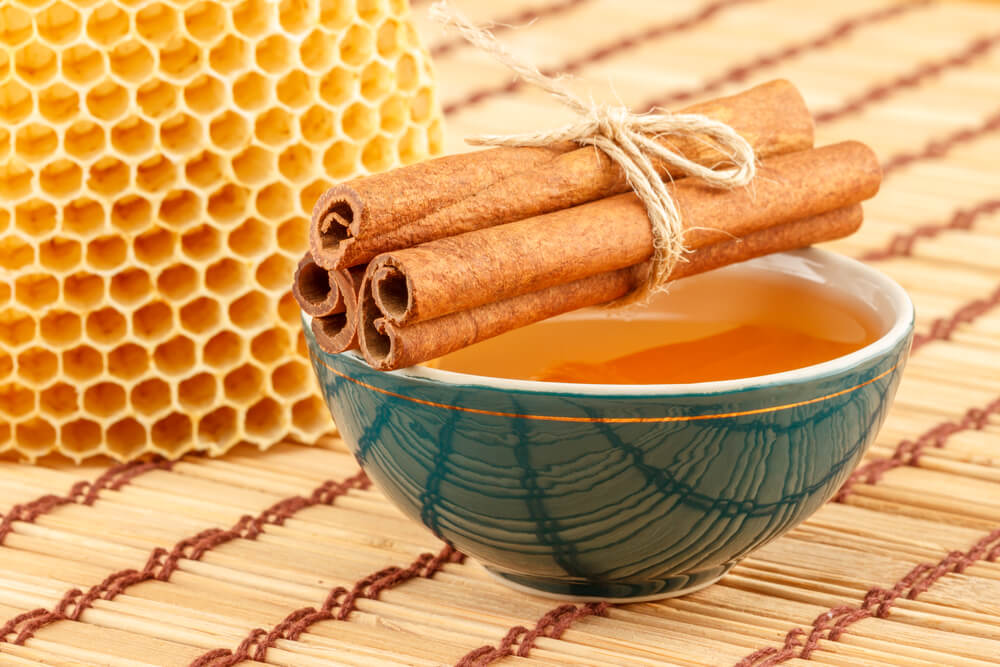 Raw Honey and Cinnamon