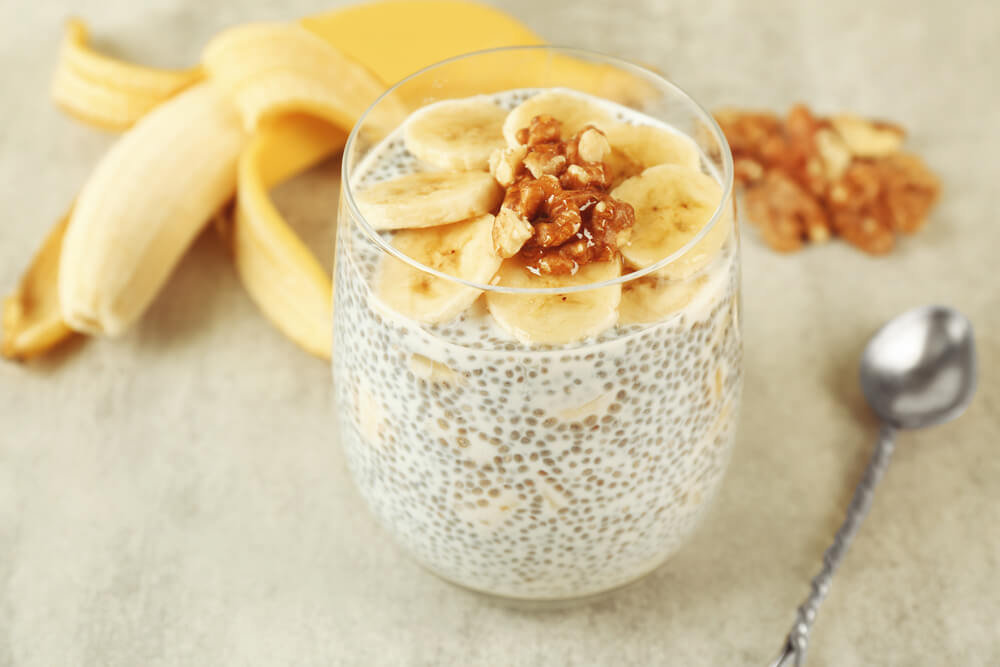 Chia Spiced Banana Smoothie