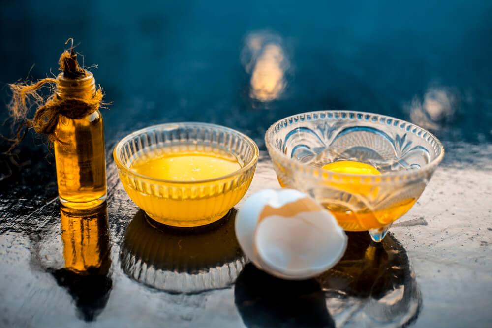 Egg Mask with Castor Oil