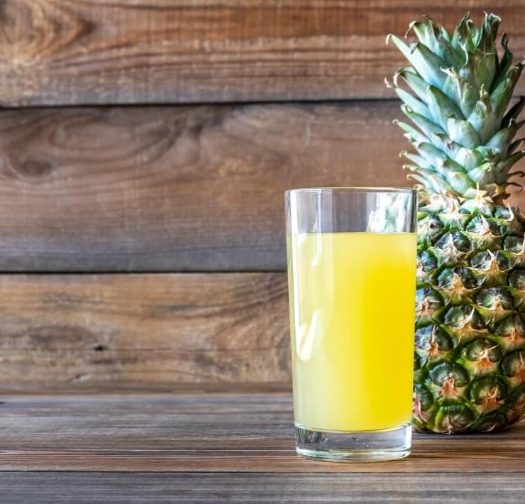 Pineapple Juice for Sore Throat