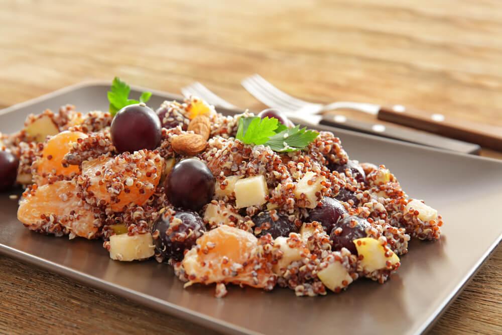 Mandarin Quinoa Salad.