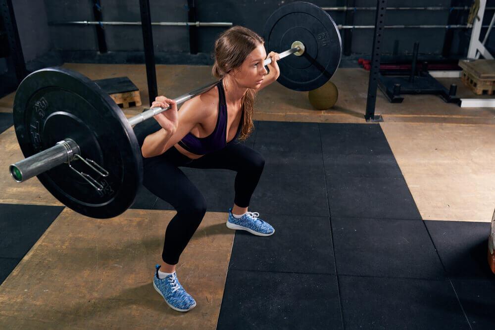 Weighted Hip Thrust