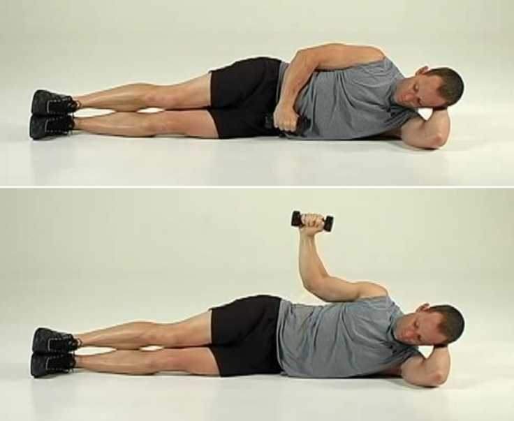 Lying Down External Rotation