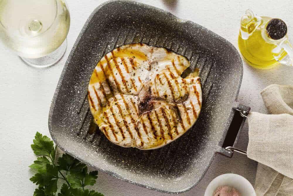 Pan-roasted Swordfish Steaks