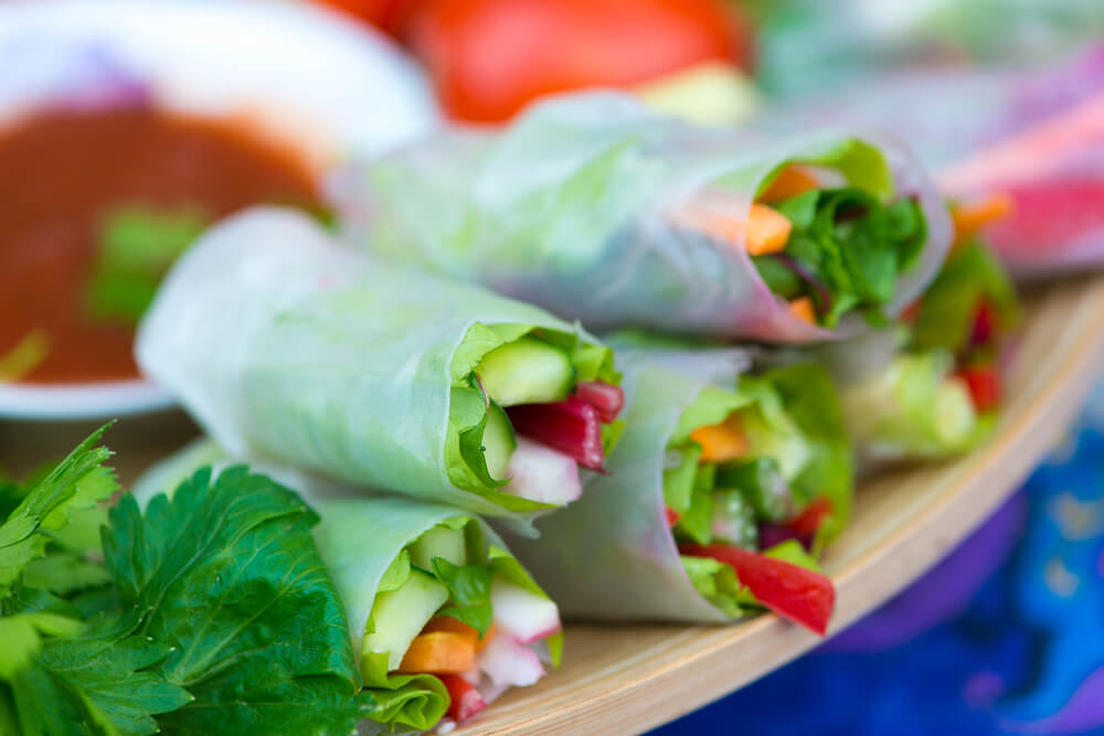 Sprouted Summer Rolls