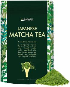 Heapwell Japanese Matcha Green Tea