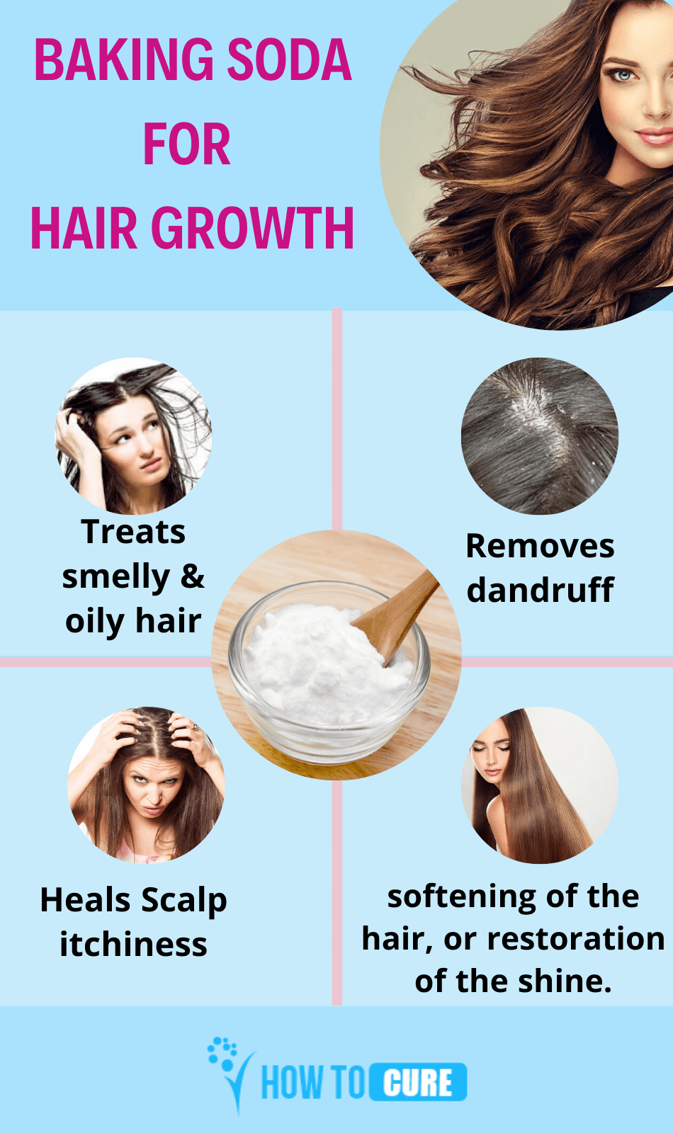 Baking Soda for Hair
